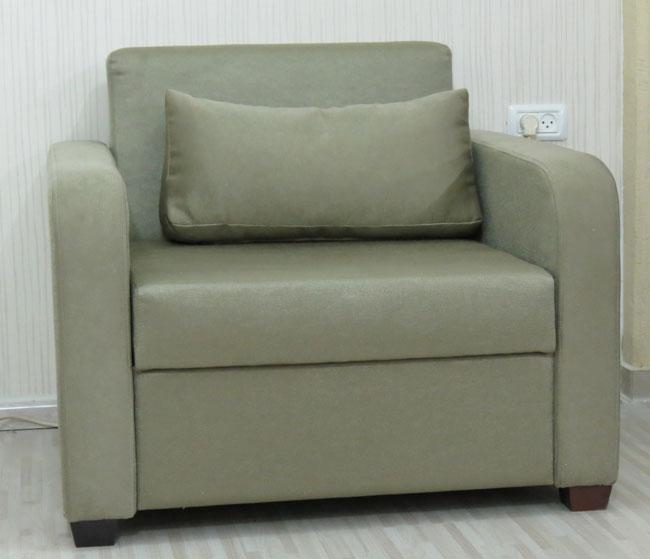 כורסא חד מושבית נפתחת למיטת יחיד דגם אילן