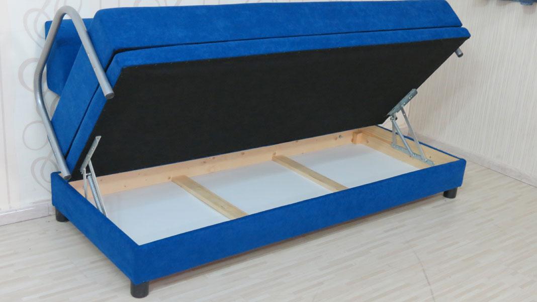 ספת ארוח נפתחת למיטה כפולה כוללת ארגז מצעים דגם אננס
