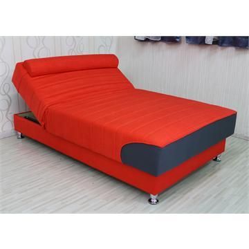 ספה ברוחב וחצי אורטופדית עם מזרן אורטופדי וארגז מצעים ומנגנון הרמה ידני דגם נקטרינה