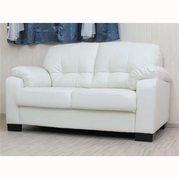 ספה דו מושבית מפנקת במיוחד מדמוי עור טופ לדר דגם פולי