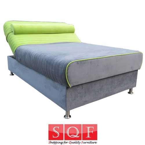 מיטה ברוחב וחצי וסופר אורטופדית עם מנגנון הרמה ידני ומזרן קפיצים מבודדים דגם פקאן
