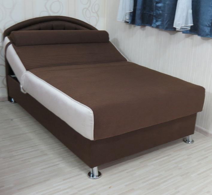 ספת נוער מפוארת וסופר אורטופדית ברוחב מיטה וחצי עם גב מיטה מהודר דגם פנטזי