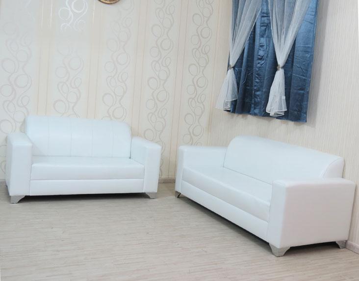 מערכת ישיבה תלת + דו מדמוי עור דגם אטלנטיק